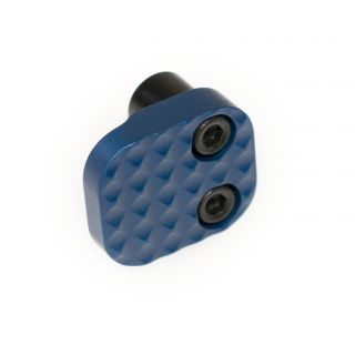 Extended Magazine Release - Blank - Anodized Blue