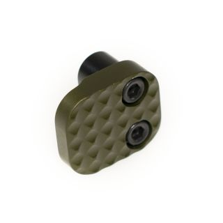Extended Magazine Release - Blank - Anodized Olive Drab Green
