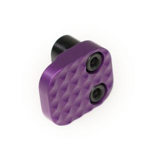 Extended Magazine Release - Blank - Anodized Purple