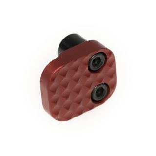 Extended Magazine Release - Blank - Anodized Red