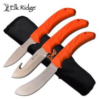 Elk Ridge Fixed Knife Set