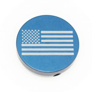 Forward Assist Cap - American Flag - Anodized Blue