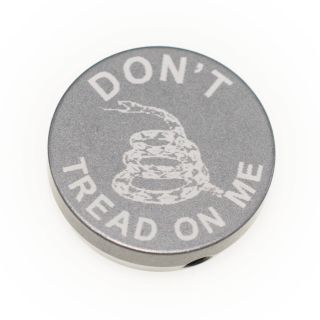 Forward Assist Cap - Don't Tread on Me - Anodized Gray