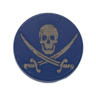 Forward Assist Cap - Jolly Roger - Cerakote Blue