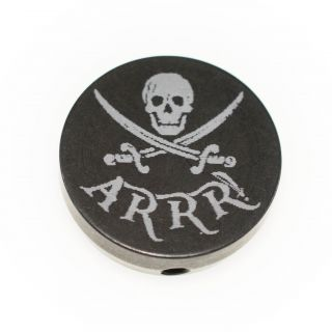 Forward Assist Cap - Jolly Roger ARRR!!! - Anodized Black
