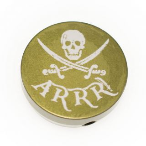 Forward Assist Cap - Jolly Roger ARRR!!! - Anodized Olive Drab Green