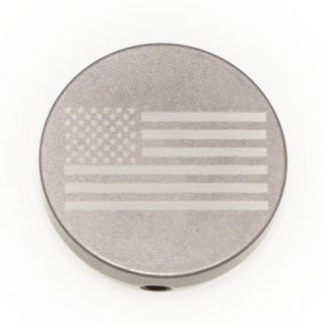 Forward Assist Cap - USA Flag - Anodized Gray