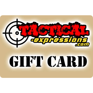 Tactical Expressions Gift Card