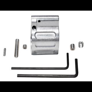 AR 15 Adjustable Low Profile .750 Gas Block - Stainless Steel