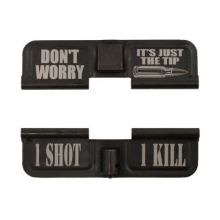 AR-15 Dust Cover - Don't Worry It's Just the Tip - 1S1K -  Phosphate Black