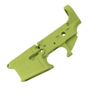 Anderson AR-15 Stripped Lower Receiver - (FFL Required) - Cerakote Zombie Green