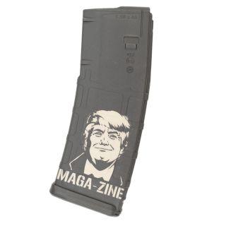 AR-15 PMAG MOE - American Flag  - Black (30 Round)