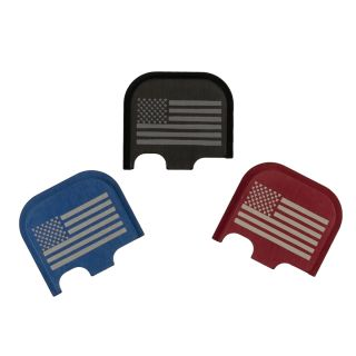 Rear Slide Plate for Glock 43, 43x and 48 - USA Flag