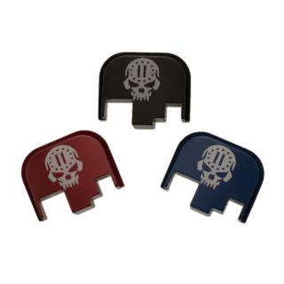 S&W M&P Full Size Rear Slide Plate - 2nd Amendment Skull