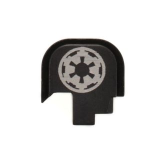 S&W Shield - Rear Slide Plate - Galactic Empire - Anodized Black
