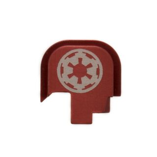 S&W Shield - Rear Slide Plate - Galactic Empire - Anodized Red