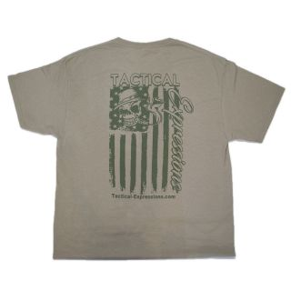 Tactical T-Shirt - Mechanic Flag - FDE