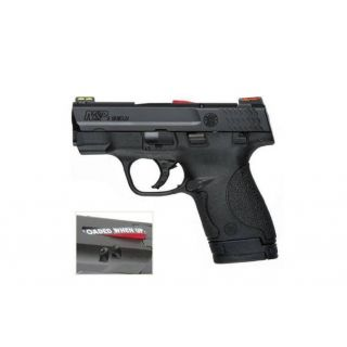 SMITH AND WESSON M&P9 SHIELD FIBER OPTIC SIGHTS CA COMPLIANT