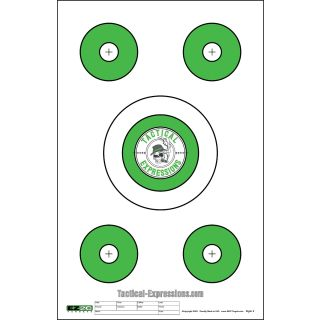 5 Target - Great for Red Dot Optics