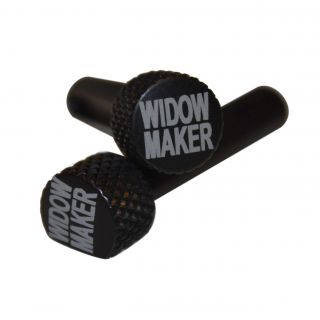 AR-15 Extended Takedown Pins - Widow Maker - Anodized Black
