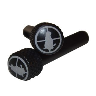 AR-15 Extended Takedown Pins - Gopher Hunter - Anodized Black