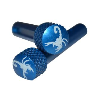 AR-15 Extended Takedown Pins - Scorpion - Anodized Blue