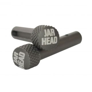 AR-15 Extended Takedown Pins - Jar Head - Anodized Gray