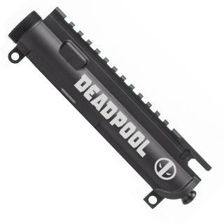 Aero Precision AR-15 Stripped Upper Receiver - Deadpool - Anodized Black