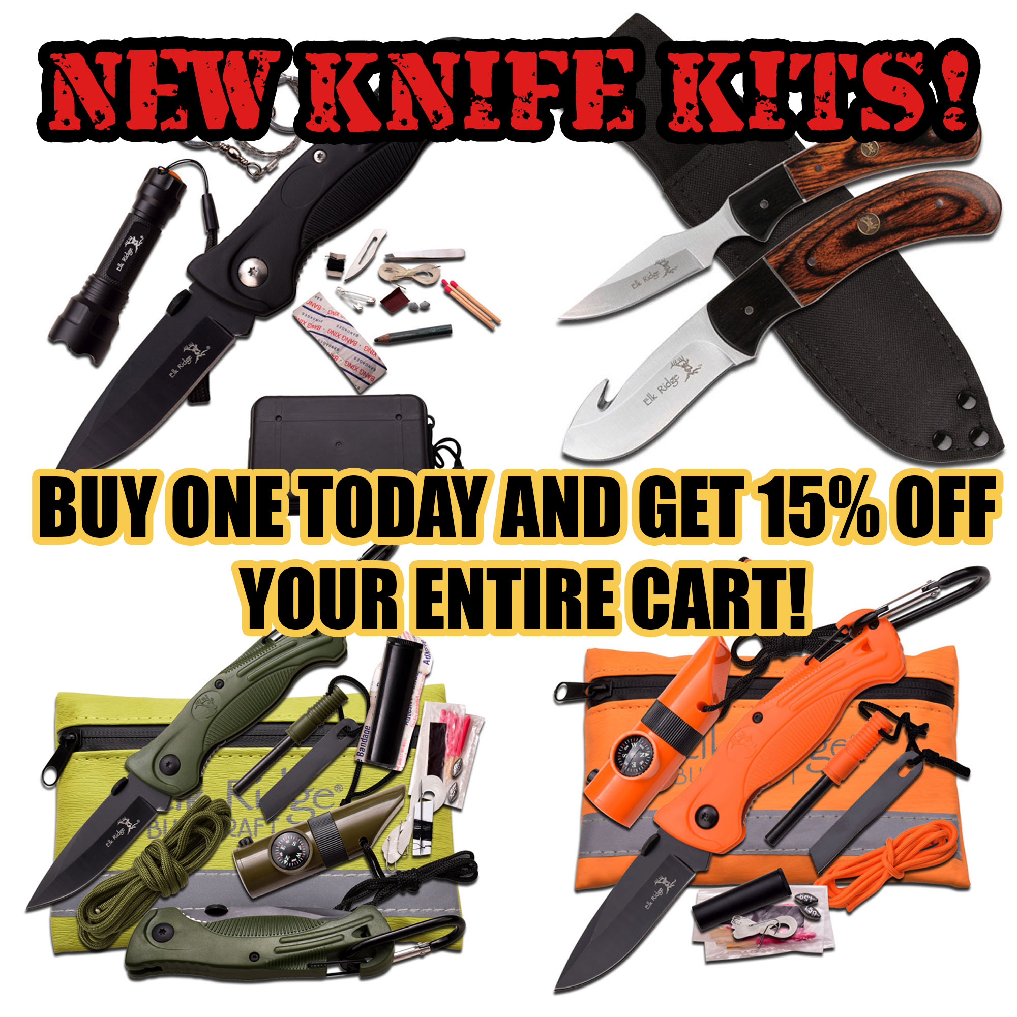 New Knife Kits
